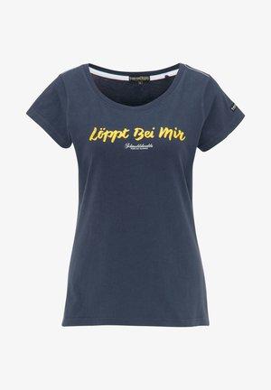 Camiseta estampada - marine