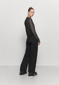 Rojo - ADVENTURE AWAITS PANT - Snow pants - true black - 2