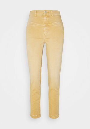 PEDAL PUSHER - Jeans Straight Leg - bamboo