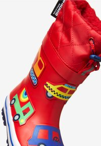 """Next - RED TRANSPORT THINSULATEÂ""""¢ CUFF WELLIES (YOUNGER) - Stivali di gomma - red - 4"""