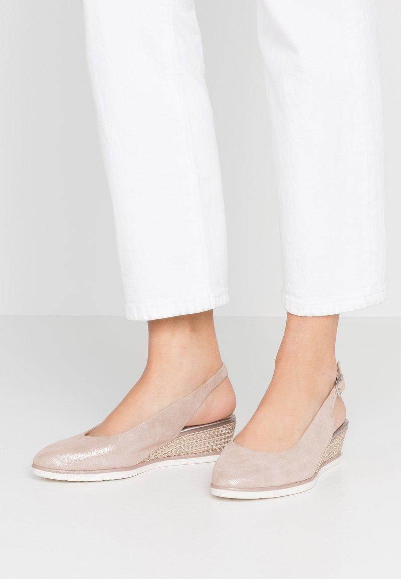 Tamaris - SLING BACK - Kiler - rose pearl