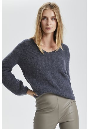 SOAKED IN LUXURY - Jumper - grisaille