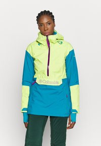 Columbia - DUST ON CRUST INSULATED JACKET - Skijacke - voltage/fjord blue/plum - 0