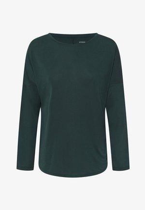 Long sleeved top - evergreen