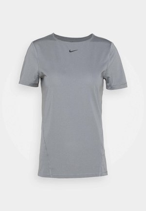 ALL OVER - Camiseta básica - smoke grey/black
