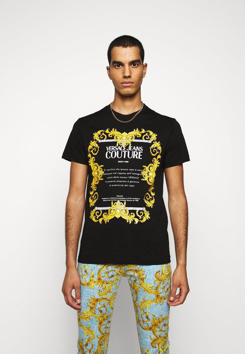 Versace Jeans Couture - MOUSE - T-shirt print - black