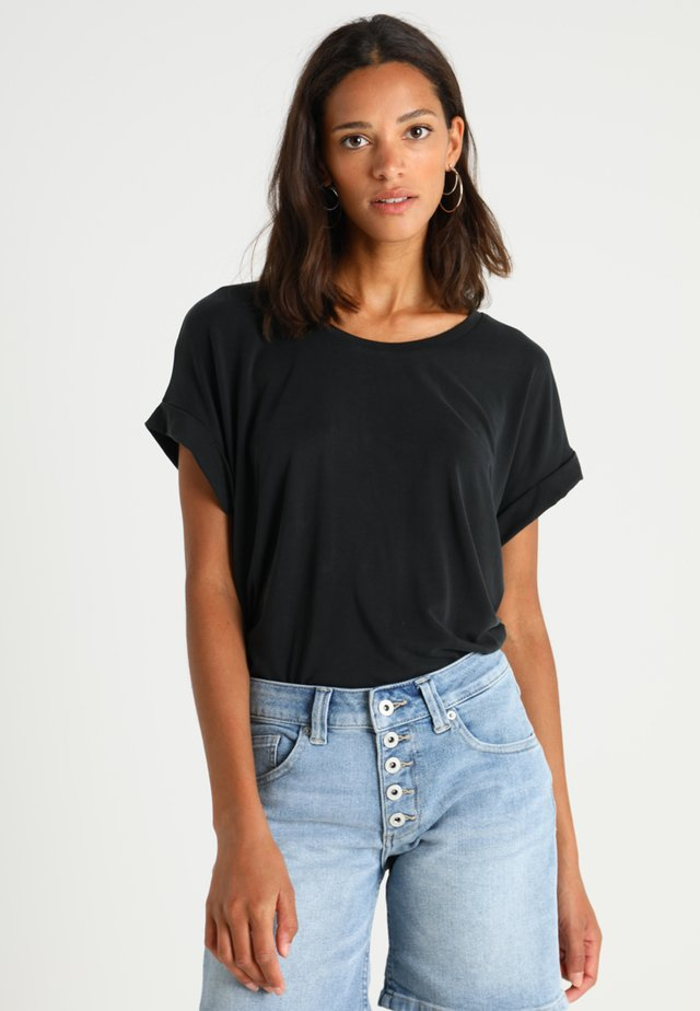 KAJSA - T-shirt basic - black wash