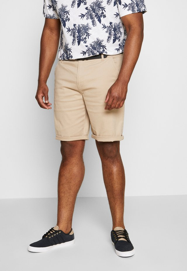 CLASSIC BELT PLUS - Shorts - sand
