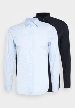 JJCLINT 2 PACK - Shirt - blue/dark navy