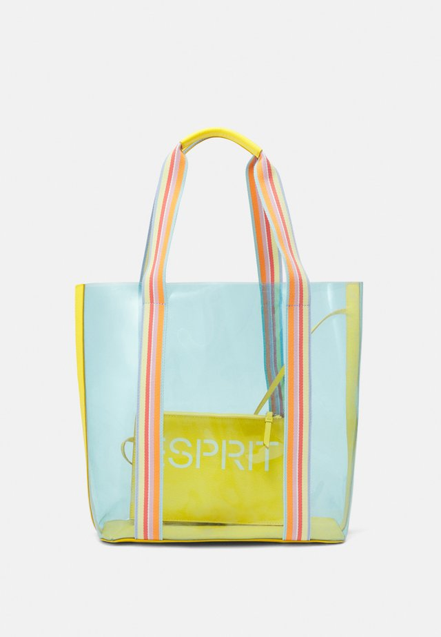DELIA SHOPPER - Tote bag - yellow