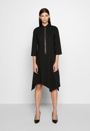 BELLE LOVELY DRESS - Blusenkleid - black