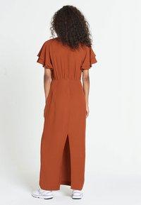 Jascha Stockholm - JUSTISE LUX - Maxi dress - brown - 2