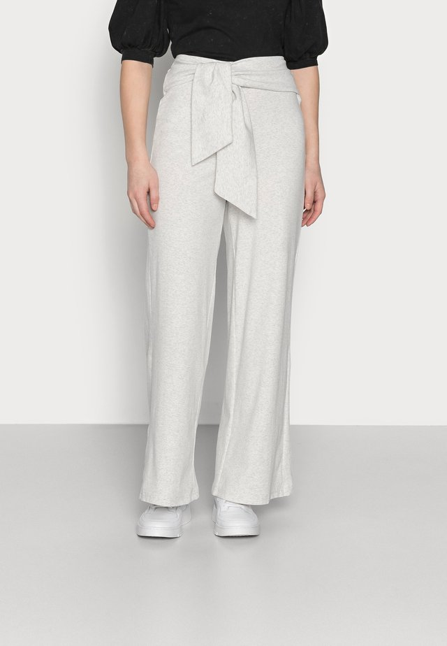 ALOE TROUSERS - Bukse - grey melange