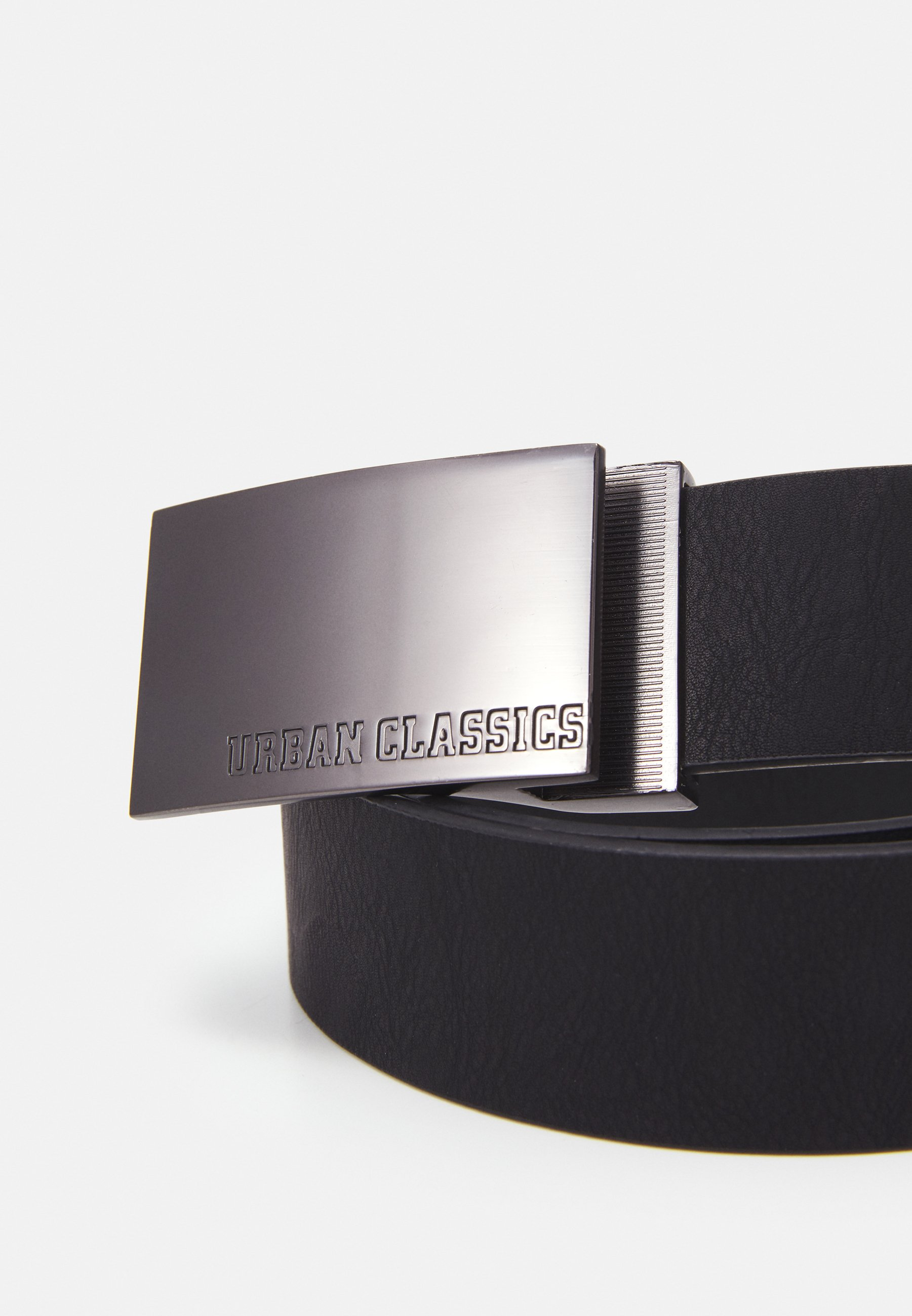 Urban Classics IMITATION BUSINESS BELT - Belte - black/svart ffa0P999ws5CKn8