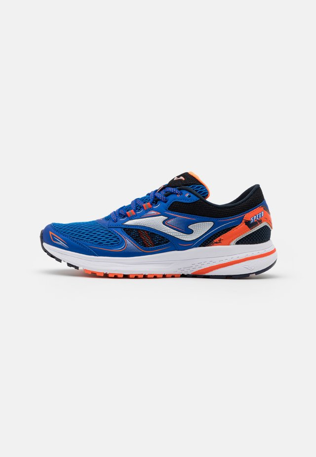 SPEED - Chaussures de running neutres - royal/orange