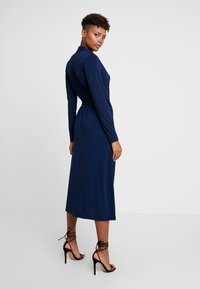 Love Copenhagen - VIVILC WRAP DRESS - Jersey dress - captain navy - 3