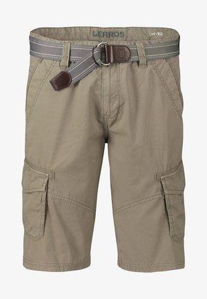 LERROS CARGO-BERMUDA - Shorts - brindle beige