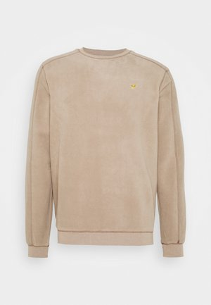Fleece jumper - sand
