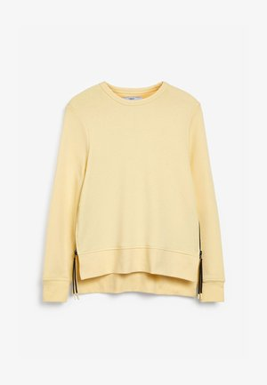 Top sdlouhým rukávem - light yellow