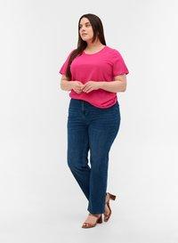 Zizzi - Basic T-shirt - pink - 1