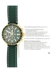Rhodenwald & Söhne - KARTHAGO II  - Chronograph watch - grün - 5