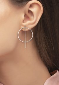 Heideman - ICTUM - Earrings - silver-coloured - 0