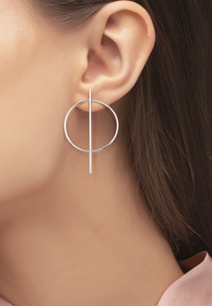 ICTUM - Earrings - silver-coloured