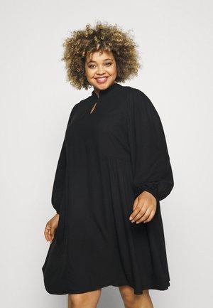 SLFFRID SHORT DRESS CURVE - Jurk - black