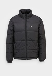 adidas Originals - PADDED STAND PUFF ORIGINALS WINTER JACKET FILLED THIN - Winter jacket - black - 0