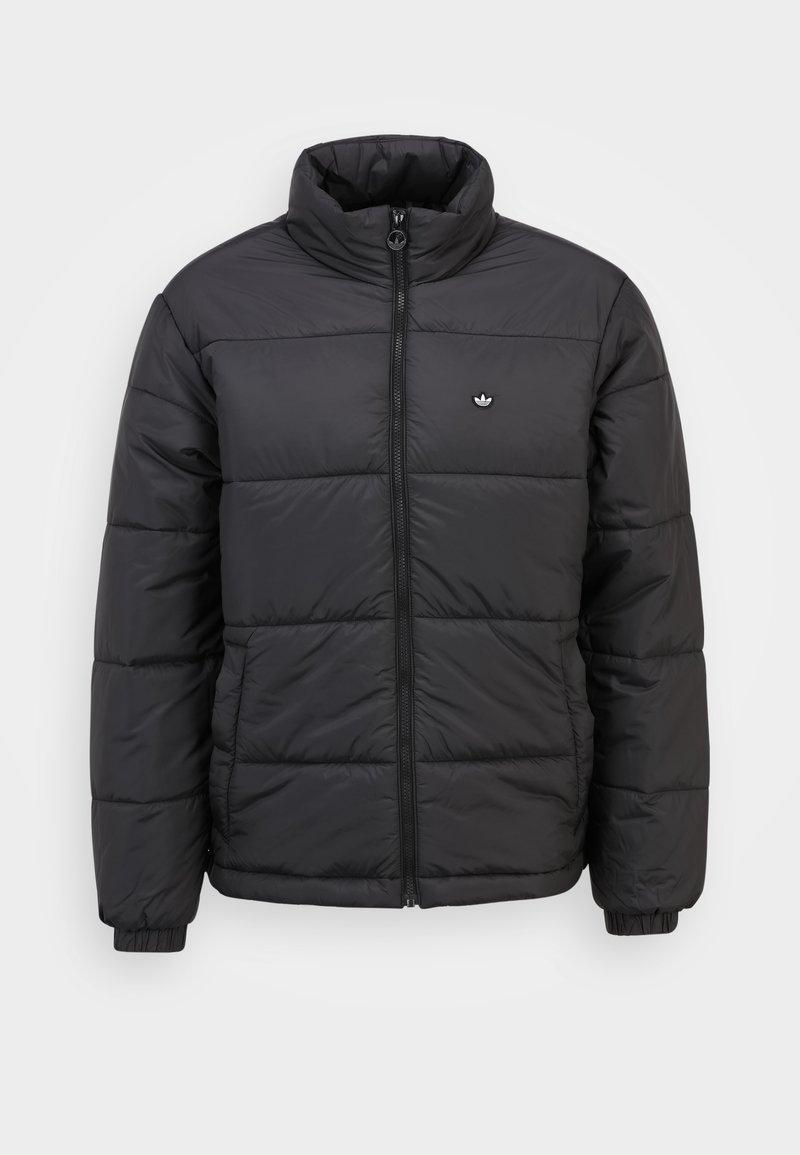 adidas Originals - PADDED STAND PUFF ORIGINALS WINTER JACKET FILLED THIN - Winter jacket - black