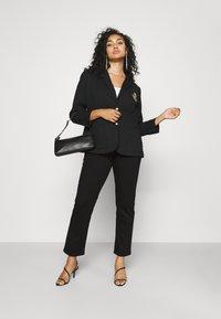 Lauren Ralph Lauren Woman - MIDRISE - Jeans Skinny Fit - black wash - 1
