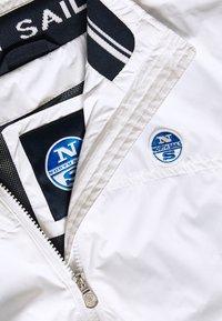 North Sails - JACKET - Lehká bunda - white - 9