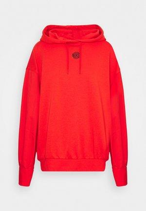 HOODIE - Sweatshirt - chile red/black