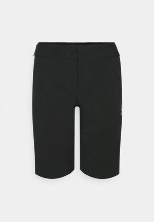 STARFLOWZ SHORT WOMENS LEG VERSION - Korte broeken - pirate black/black
