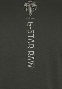G-Star - BACK GRAPHIC TWEETER  - Pitkähihainen paita - anthracite - 2