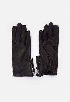 GROUND GLOVES TOUCH - Rukavice - black