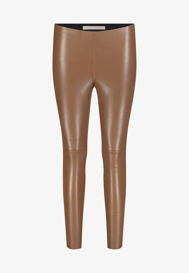 Leggings - Trousers - sugar brown