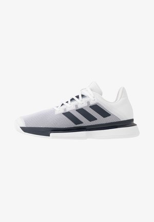SOLEMATCH BOUNCE - Multicourt Tennisschuh - footwear white/legend ink