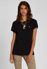 Volcom - STONE BLANKS TEE - Basic T-shirt - black - 0