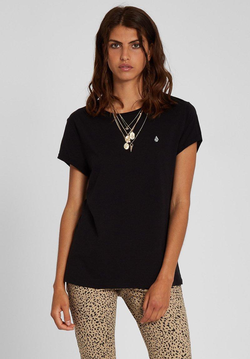 Volcom - STONE BLANKS TEE - Basic T-shirt - black