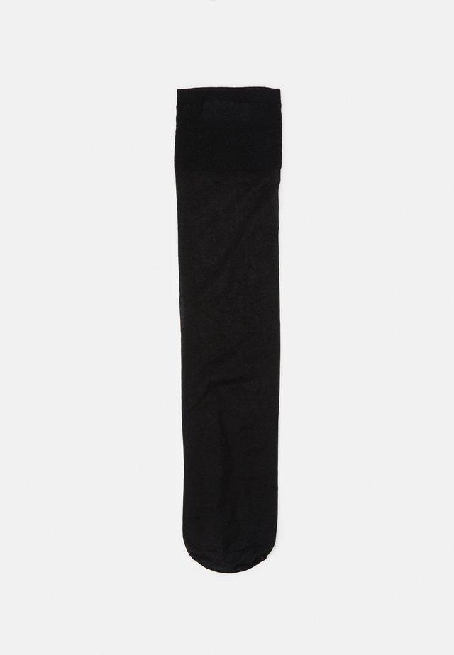 KNEE HIGH SHEER SOCKS 2 PACK - Strumpor - black