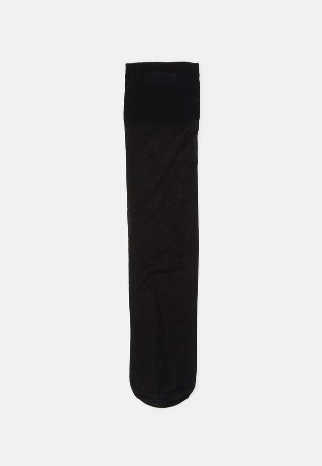KNEE HIGH SHEER SOCKS 2 PACK - Ponožky - black