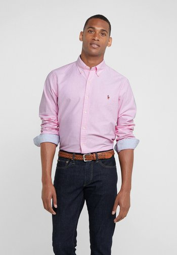 SLIM FIT OXFORD SHIRT - Shirt - new rose