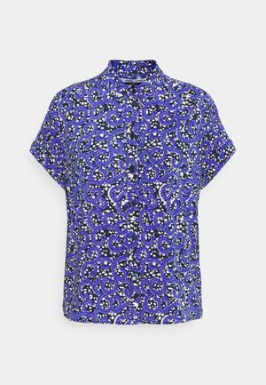 MAJAN - Button-down blouse - blue nairobi
