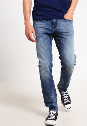 Slim fit jeans - light stone wash denim