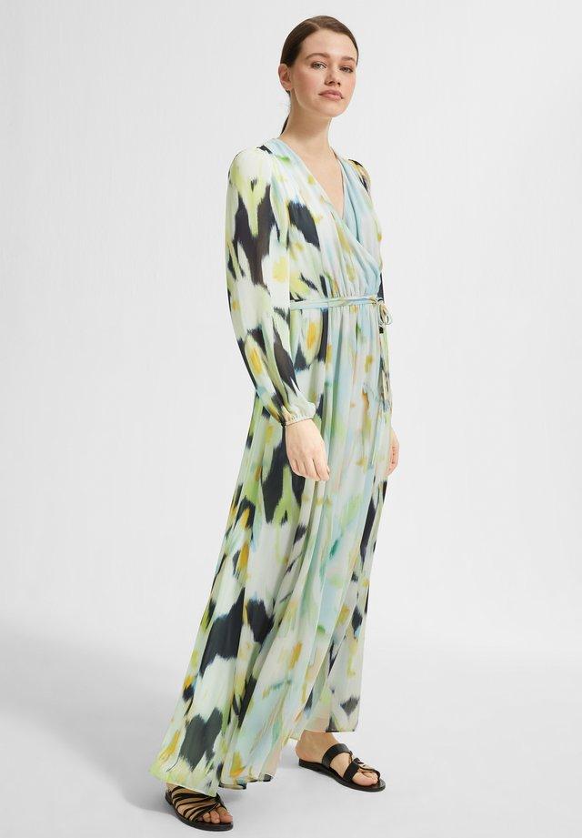 Maxi dress - navy faded flower