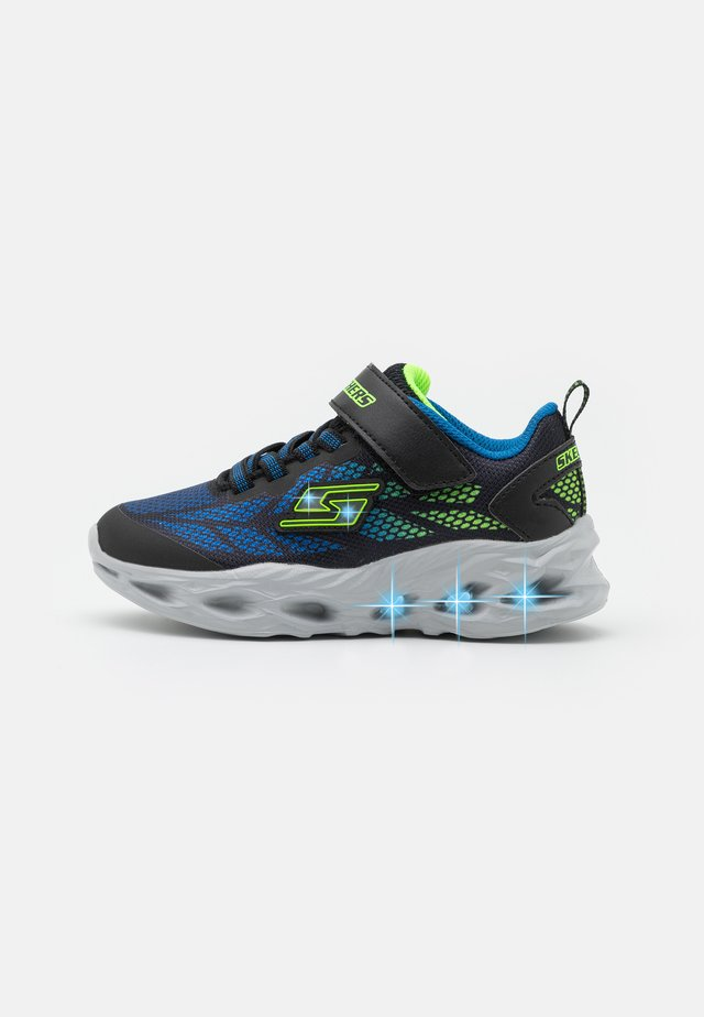 VORTEX FLASH - Trainers - black/blue/lime