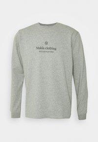 Makia - HORIZON LIGHT - Collegepaita - grey - 0