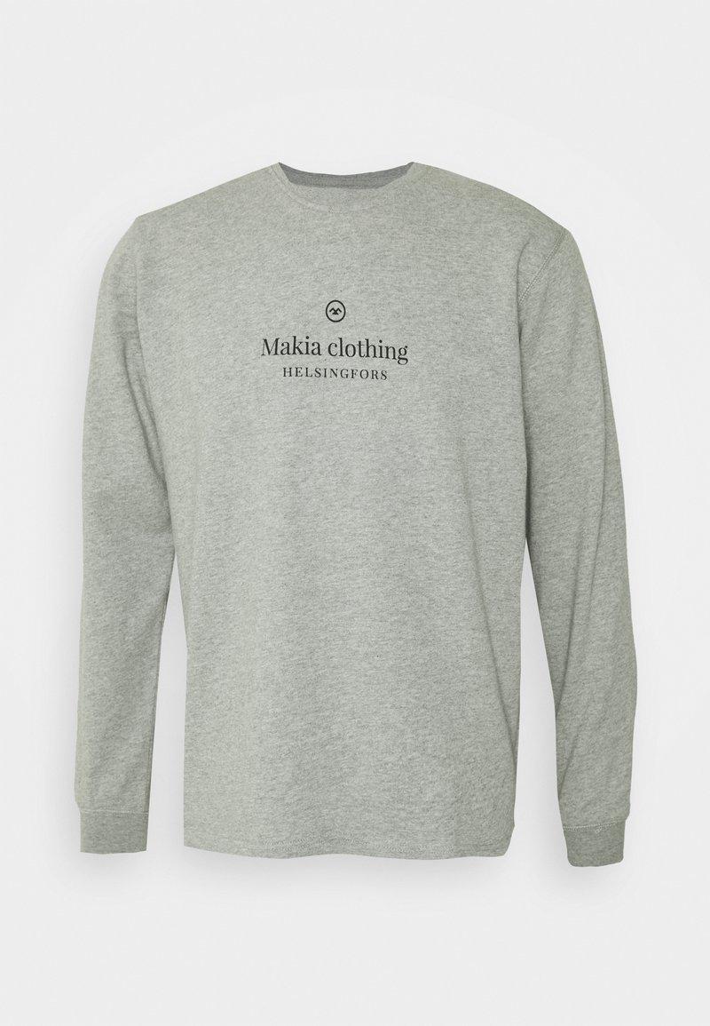 Makia - HORIZON LIGHT - Collegepaita - grey
