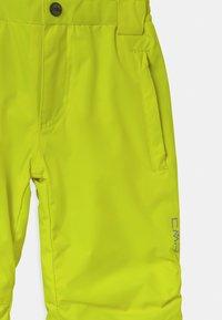 CMP - SALOPETTE UNISEX - Snow pants - yellow fluo - 3
